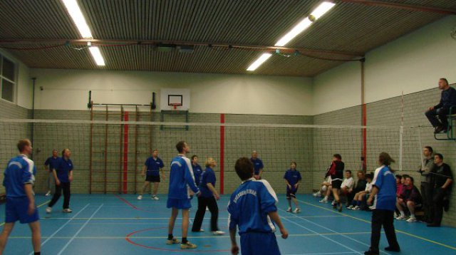 Volleybal (woensdag 29 december 2010)